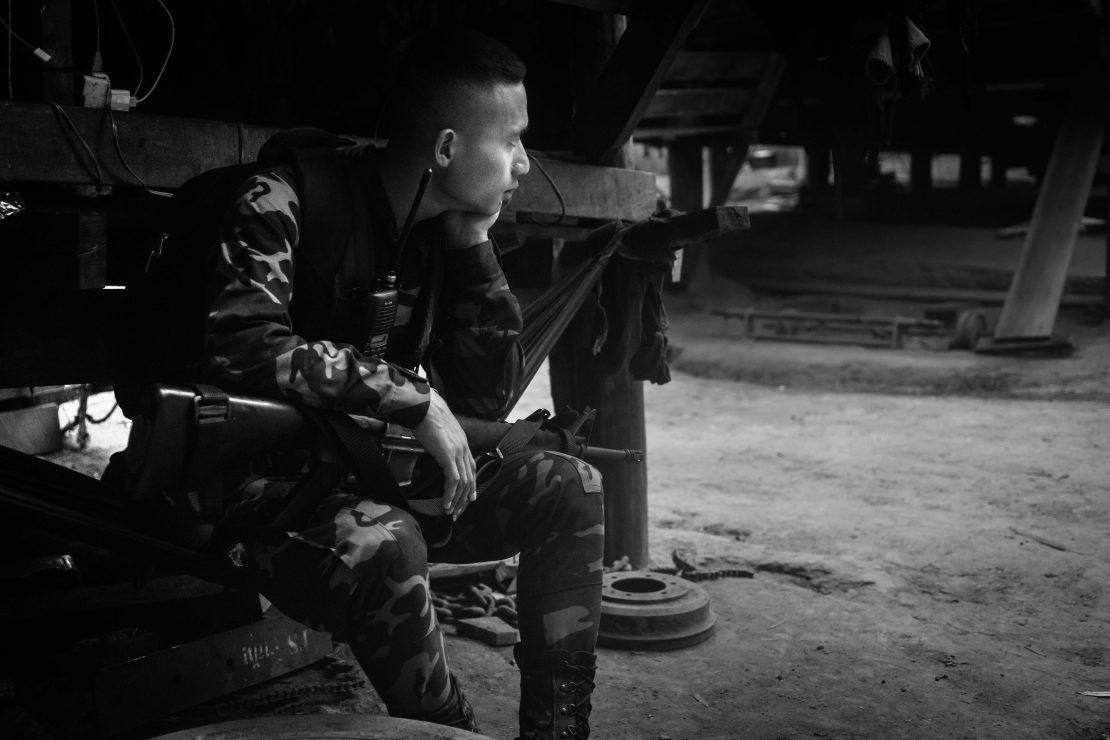 soldato karen in guerra